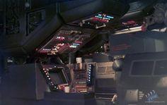 Nostromo bridge dyline prints Film Production from Alien (1979) @ Online Movie Memorabilia Archive and Marketplace - PROPbay.com