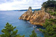View of the East Sea from Hajodae, Yangyang, South Korea