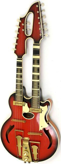 1961 Superton Double Neck Mandolin Guitar --- www.pinterest.com...