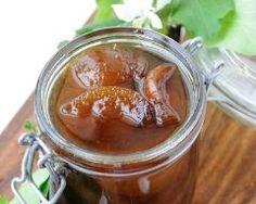 Confiture de poires aux épices (gingembre)