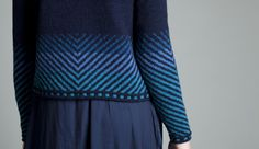 Traigh cardigan by Jade in blue colourway