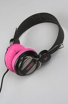 "WeSC ""The Oboe Seasonal Headphones in Black"" #KARMALOOP 10-20% OFF every order with rep kode LOOPHOLE [KarmaKodes.com for more] 