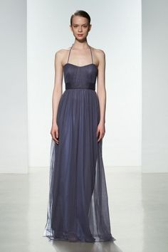Amsale bridesmaids spring 2016 tulle g947u shown in periwinkle