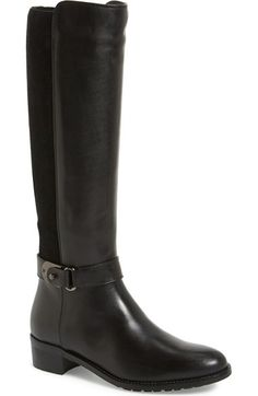 Aquatalia 'Olita' Weatherproof Riding Boot (Women) (Nordstrom Exclusive) available at #Nordstrom
