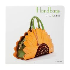 sunflower handbag...i could live with one of these..