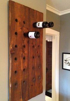 Reclaimed Wood Wine Racks