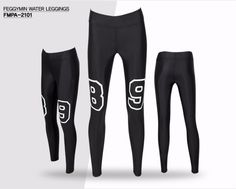[FEGGY MIN] Rash Guard Leggings Pants For Woman UV protection Yoga Fitness 2102 #Feggymin