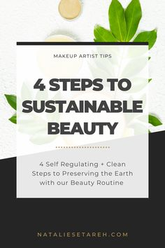 """There is a massive impact on the earth from hard-to-recycle cosmetic packaging, as well as ingredients in the products that aren't just harmful to the planet (particularly aquatic and marine life) but also to us! It really all comes down to self-regulation and making """"cleaner"""" choices can help preserve us and the earth. Easy Makeup Tutorial, Makeup Tutorial For Beginners, Skincare Packaging, Cosmetic Packaging, Best Makeup Tips, Best Makeup Products, How To Wear Makeup, Makeup Artist Tips, Power Of Makeup"""