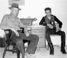William S. Burroughs & Joe Strummer