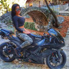 "BossBikersLife.com ➡➡@mariza_zx ⬅⬅❤ Link in bio Tag or DM us for a feature! Email us if your profile is private! Check us out on facebook search for ""Biker Chicks of Insta"" #bikeswithoutlimits #relationshipgoals #bikerchicksofinstagram #BikerChicks #LadyRider #LadyBikers #UKBikeLife #NYBikeLife #CaliBikeLife #CanadaBikeLife #r6 #r1 #hp4 #motorcycle #motorbike #bikerchick #BikeLife #bikelove #Yamaha #Gsxr #Kawasaki #bikerchicksofinsta #ktm #motocross"