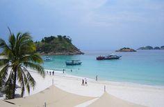 Strand auf Pulau Redang - #Malaysia Redang island beach