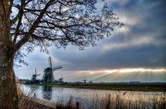 Kinderdijk II by Watze D. de Haan