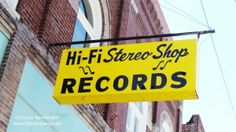 "Hi Fi Stereo Shop in Fairmount, #Indiana: Indiana's ""Longest Playing"" #Record Store -- I had no idea they turned new music into records! Neat!"