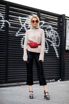 New York Fashion Week Street Style Photos sep17