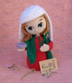 patrona de los ciegos y abogada de problemas de la vista. Santa Lucia, Crochet Hats, Crochet Ideas, Religion, Madonna, Embroidery, Friends, Lace, Free Crochet