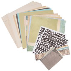 Come Away With Me Designer Collection. This collection includes one package of each of the Come Away With Me Designer products: Designer Cardstock, Solid Cardstock, Border Strips, Journal Cards, Refill Pages (Cream Linen) and Alphabet Stickers. Products may also be purchased separately.