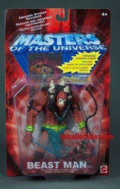 Masters of the Universe Beast Man Action Figure 2001 Mattel #MastersoftheUniverse