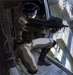 The upcoming live-action adaption of the popular cyberpunk magna, Ghost in the Shell, features Scarlett Johansson as Major Motoko Kusanagi Manga Anime, Dc Anime, Anime Art, Anime Boys, Ghibli, Martial, What Is An Artist, Character Art, Character Design