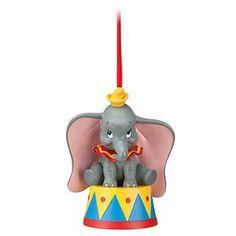 Sitting Dumbo the Elephant Disney Ornament Disney Christmas Ornaments, Peanuts Christmas, Christmas Tree Themes, Hallmark Ornaments, Xmas Tree, Dumbo The Elephant, Baby Elephant, Christmas Story Books, Christmas Things