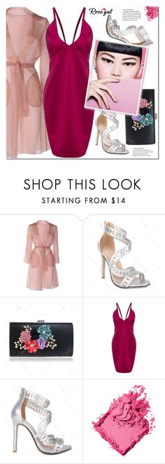 """""""Dress"""" by j-sharon ❤ liked on Polyvore featuring MaxMara and Bobbi Brown Cosmetics"""