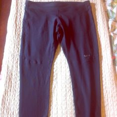 "Spotted while shopping on Poshmark: ""NWOT Nike Dri-Fit full length running tights""! #poshmark #fashion #shopping #style #Nike #Pants"
