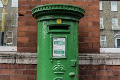 Rathmines in Dublin - Old Post Box