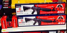 Airgun manufacturers and Walmart do their part in rearing a whole new generation of potential mass murderers.