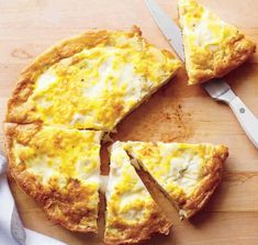 Potato-Leek Frittata--The economical egg is a great base for all sorts of hearty flavors; our versatile frittata recipe can be made with a variety of ingredients for an easy meal anytime. Strata Recipes, Frittata Recipes, Brunch Recipes, Breakfast Recipes, Vegetarian Breakfast, Free Breakfast, Brunch Ideas, Breakfast Time, Breakfast Casserole