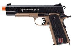 Airsoft Gun: Elite Force 1911 Tac Full Metal CO2 Blowback Airsoft Gun