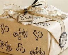 80th birthday decorations | 80th Birthday Party Decorations on 80th Birthday Gifts Gift Ideas For ...