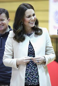 Royal watchers predict that the Duchess of Cambridge, who goes on maternity leave today, w...