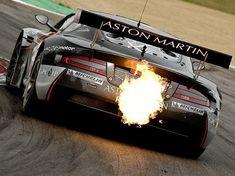 Aston Martin GT race car