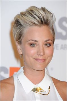 Kaley Cuoco Sweeting Haircut