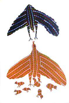 in, The World of Indian Contemporary Art, Fine resource of art-India, Online Indian art gallery listing of artists Indian Contemporary Art, Modern Art, Gond Painting, Indian Art Gallery, Tribal Community, Bird Quilt, Indian Folk Art, List Of Artists, Aboriginal Art