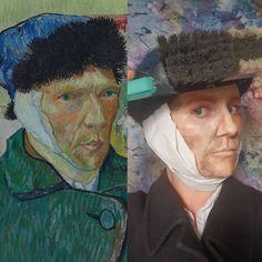 Creating Art, Art Painting, Famous Artwork, Art Challenge, Drawings, Painting, Art, Art Parody, Portrait Photo