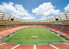 Manaus stadium by GMP Arkitechten hosts four World Cup matches.