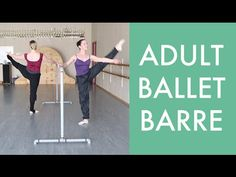 Here is a ballet barre for you to do at home! This barre includes simple combinations so you can really focus on correct technique. Feel free to make it hard...