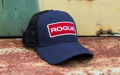 0089f486189ad Classic Rogue trucker hat with Rogue Patch logo. One size fits all. Get  more details or order your Rogue hat at RogueFitness.com.