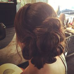 Bridas hair updo Maryjo by The Room