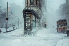 New York in he snow