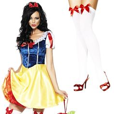 A princess themed hen party  Snow White Fever Fairytale Fancy Dress Adult Book Ladies Costume Outfit UK 6-18 | eBay  #henparty #henpartyideas