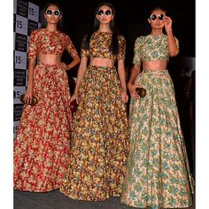 #sabyasachibysabyasachi #biglove #resort2015 #springsummer #glitterbomb #floral #prints #embroidery #shimmer #jewelled #exotic #exquisite #absoluteglamour #colourblast #thesabyasachibride #freedom #retroglam #partygirls #coolshades #thesabyasachi #logo #bengal #tiger #accessories #backstagecoolness #destinationsweddings #lakmefashionweek #powerful #handcraftedinindia