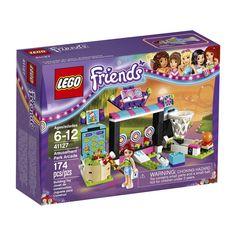 LEGO Friends 41127 Amusement Park Arcade Building Kit (174-Piece) $17.85