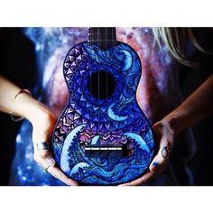 ukulele sharpie designs - Google Search