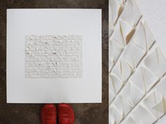 Imperfection - porcelain wall art Im Not Perfect, Porcelain, Notebook, Wall Art, I'm Not Perfect, Porcelain Ceramics, Notebooks, The Notebook, Exercise Book