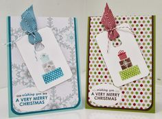 Wishing You, Day 3 of my Kick Start Christmas Class Series Stamped Christmas Cards, Stampin Up Christmas, Very Merry Christmas, Christmas Crafts, Xmas, Card Making Designs, Your Cards, Gift Tags, Wish