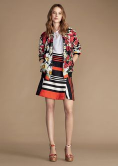 2c2539b03828 Get inspired by Dolce  amp  Gabbana Women s Spring time in the City  Collection Summer 2016