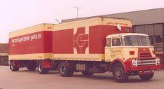 DAF DO 2000 4X2 met gesloten aanhanger van Van Reenen in Barneveld