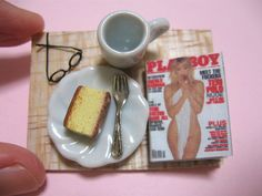 Cheeky gift for my father... specs and playboy magazine bought from ebay. I need to fill in the tea...