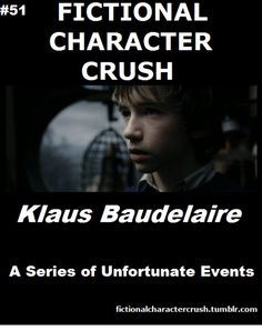 #51 - Klaus Baudelaire from A Series Of Unfortunate Events 18/07/2012